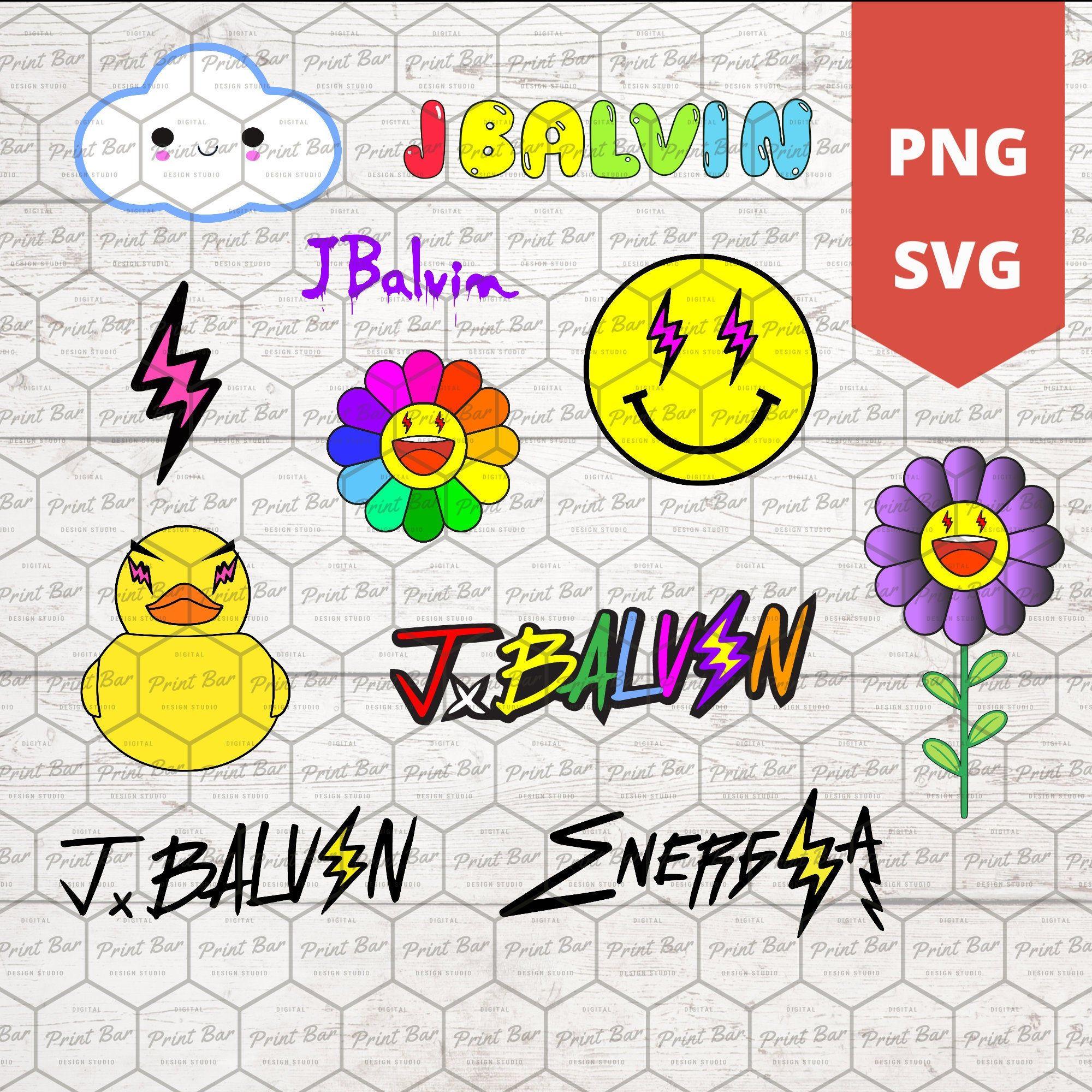 J Balvin logo bundle SVG / PNG Etsy in 2020 Logo
