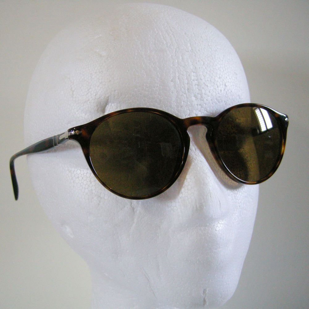 3577f88320e PERSOL 3092SM Sunglasses Havana Crystal Polar Brown 9015 57 Polarized  Handmade  Persol  Round