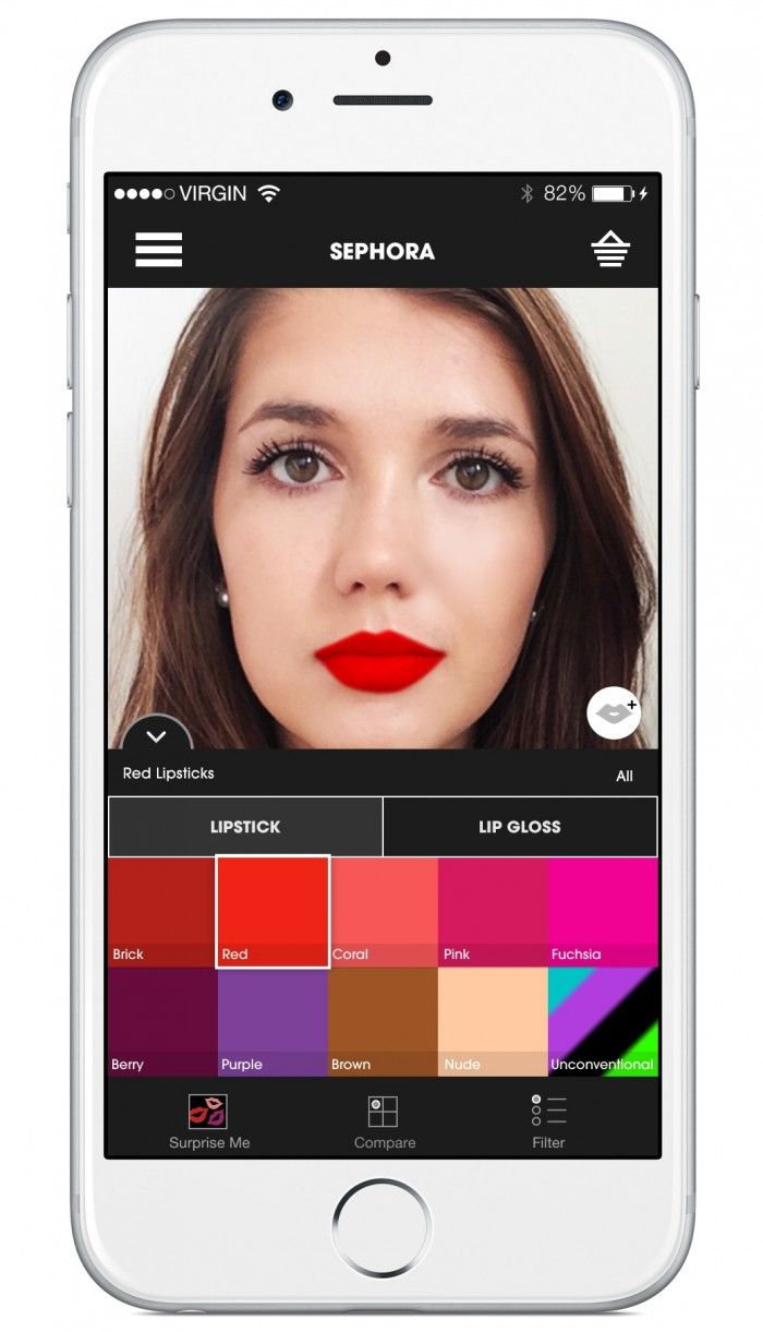 Sephora Virtual Artist app now allows you to try on