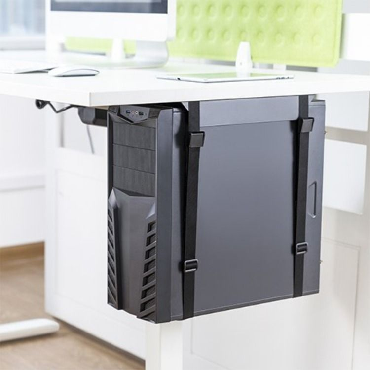 Under Desk Cpu Mount Cpu Stand Cpu Holder Cpu Stand In 2020 Laptop Stand Ergonomics Desk