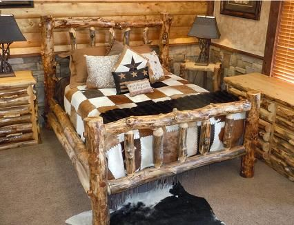 Awesome Log Bedroom Sets Collection