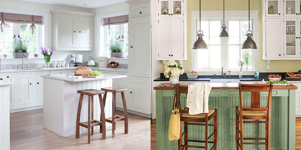 Küche Designs Moderne Küchen 2018: Cottage-Stil Küche Ideen und ...