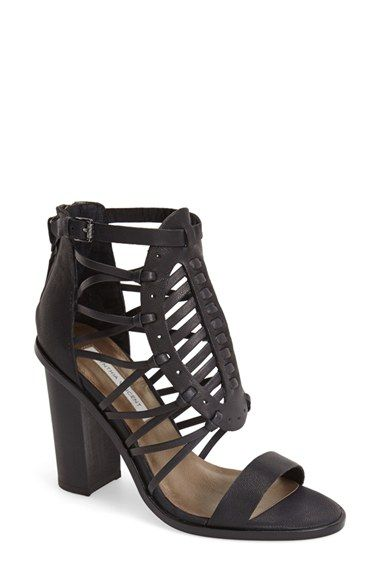 CYNTHIA+VINCENT+'Flora'+Strappy+Leather+Caged+Sandal+(Women)+available+at+#Nordstrom