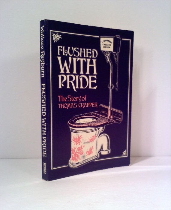 Vintage Book Flushed with Pride by sweetgyrlandpops on Etsy, $4.00