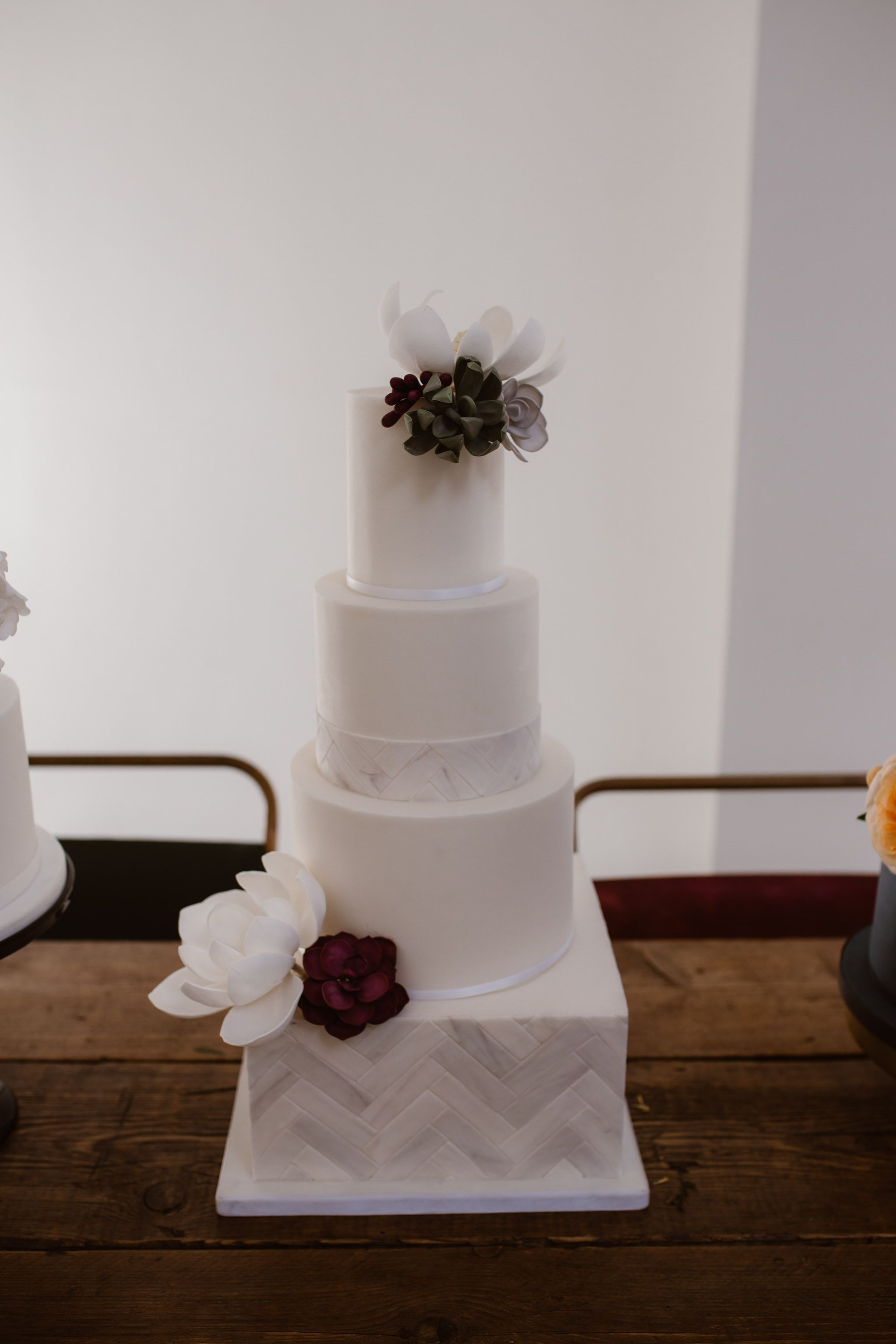 Contemporary wedding cakes manchester modern wedding cake design