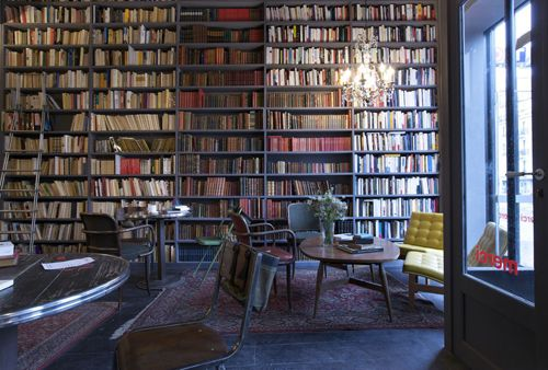 Merci Paris (Cafe) | Ahh   J'adore Decor! | Book cafe, Coffee shop