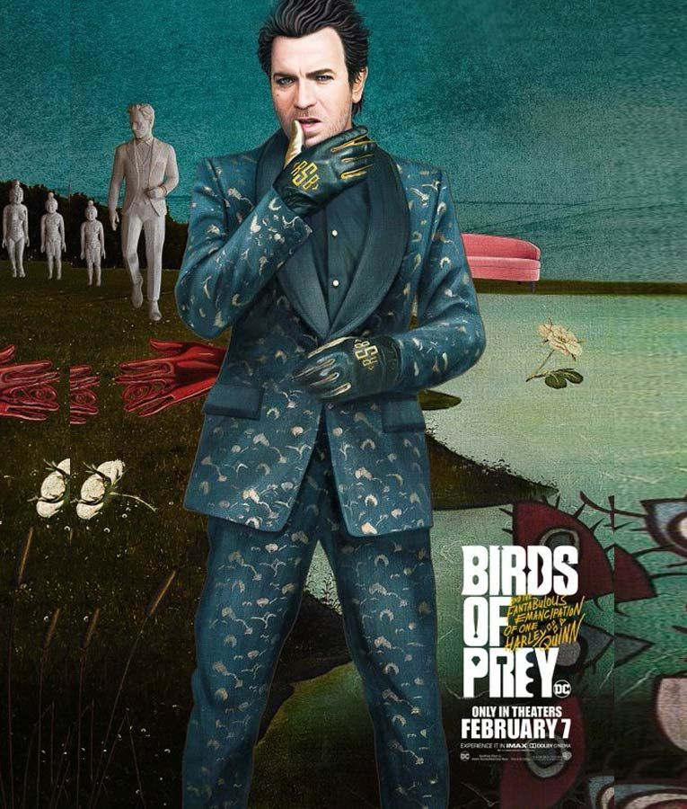 Birds Of Prey Black Mask Suit In 2020 Black Mask Birds Of Prey Prey