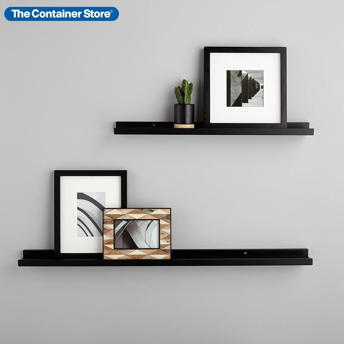 Small Floating Shelves Black