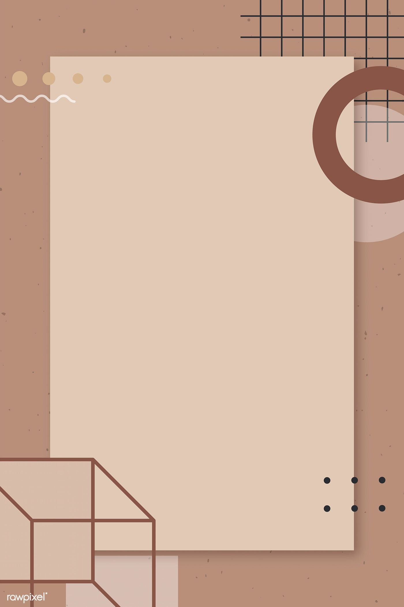 [View 21+] Powerpoint Presentation Template Background Ppt Aesthetic Brown