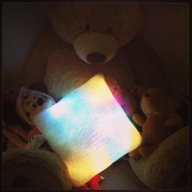 sensory lights soft colors changing