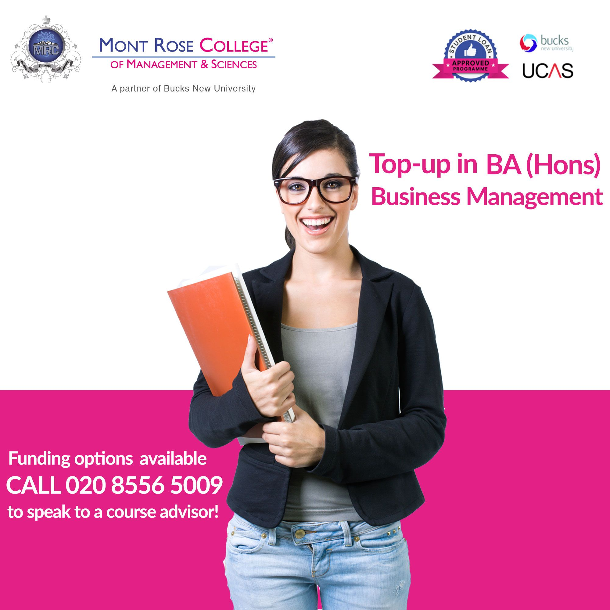 Mont Rose College of the Management and Sciences offers BA