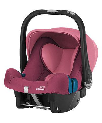 Britax babysafe plus shr ii baby car seat wine rose