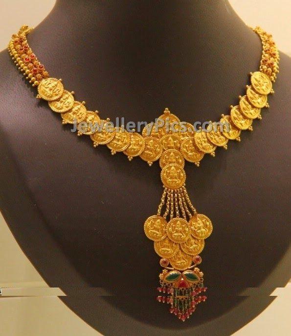 Modern Indian Wedding Jewellery: Light And Modern Kasulaperu