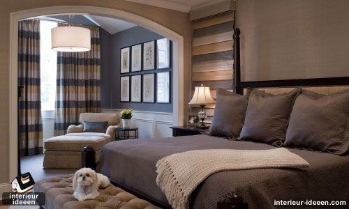 Grijze slaapkamer voorbeelden | Wohnkamerideeen | Pinterest ...
