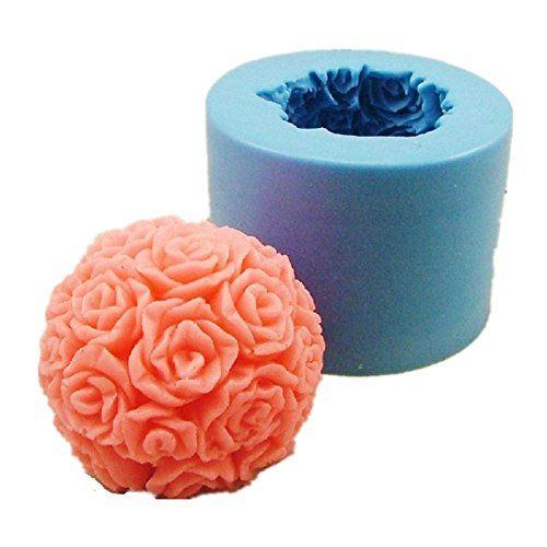 Allforhome Silikon Form Zum Seifen Und Kerzengiessen Form