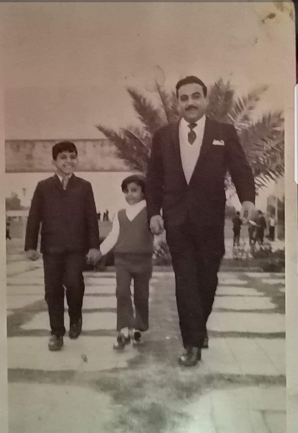 عائلة بغدادية عند الخروج من المنزل أيام زمان Historical Figures Baghdad Historical