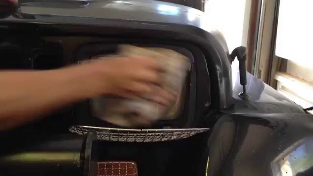 Clean your foggy headlights with repel bug spray jeep