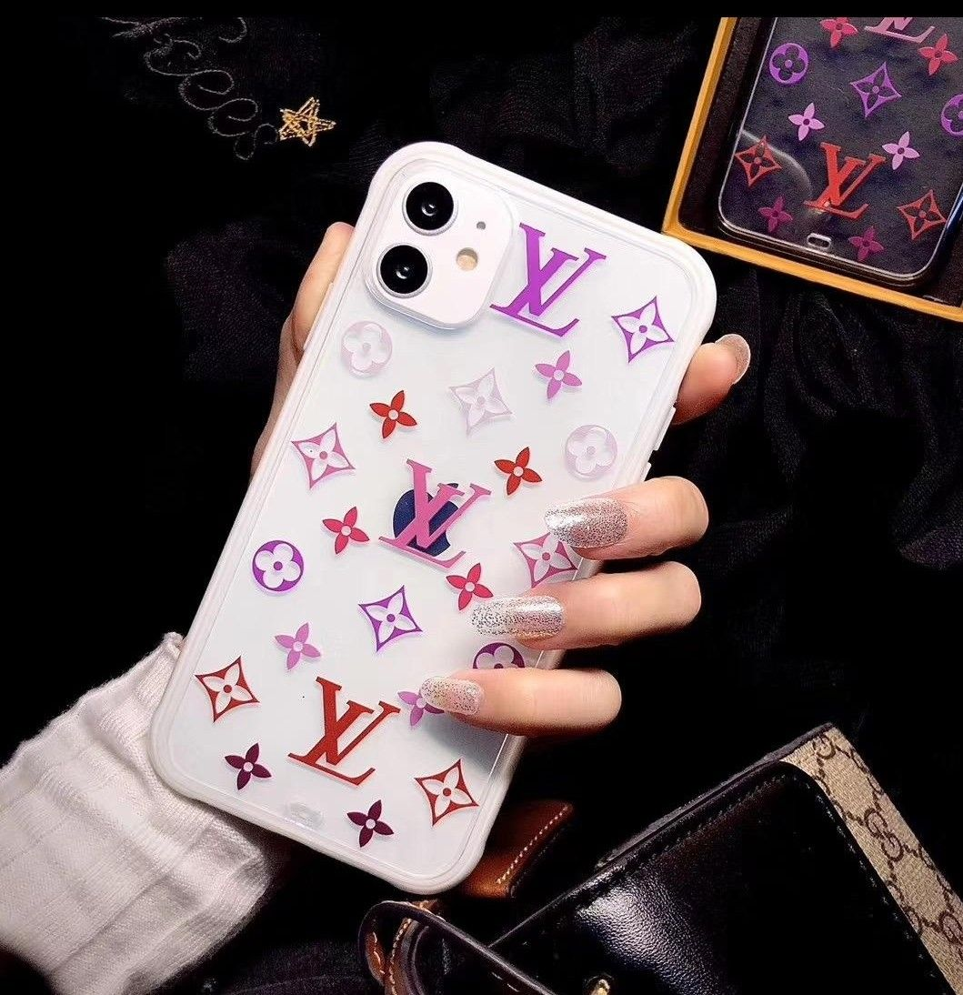 Colorful monogram iPhone case iPhone 6s to 11 pro from