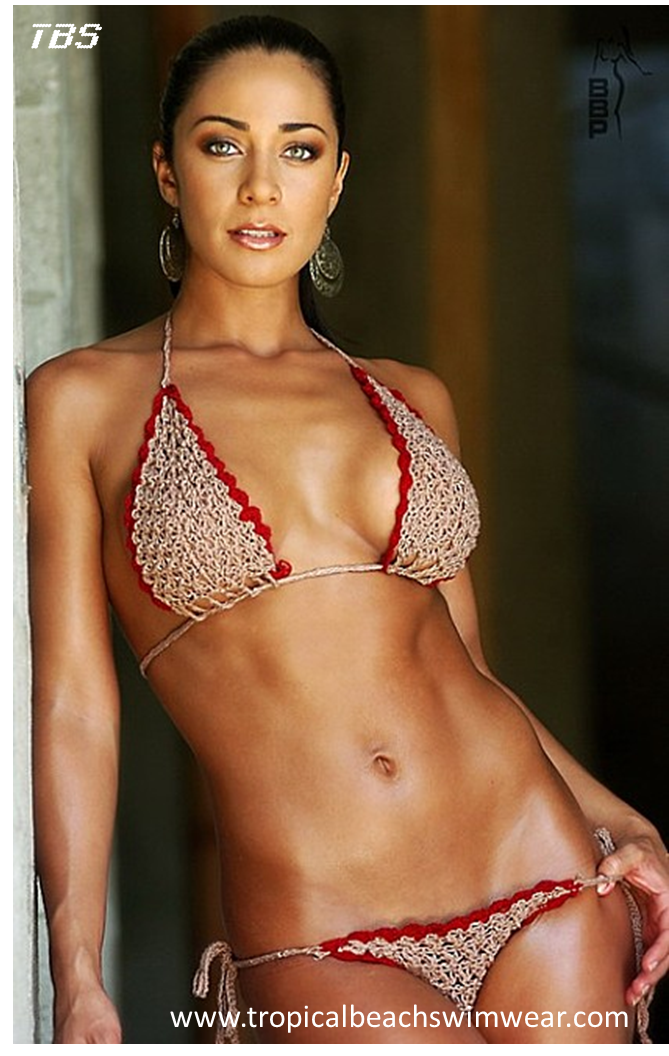 Crochet Bikinis http://www.tropicalbeachfashion.com/b.php?n=179 #crochetbikinis #crochet #bikinis