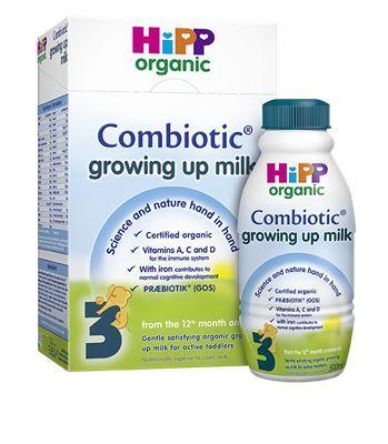 HiPP 3 Organic Growing Up Milk from 12 Months Onwards 600GM