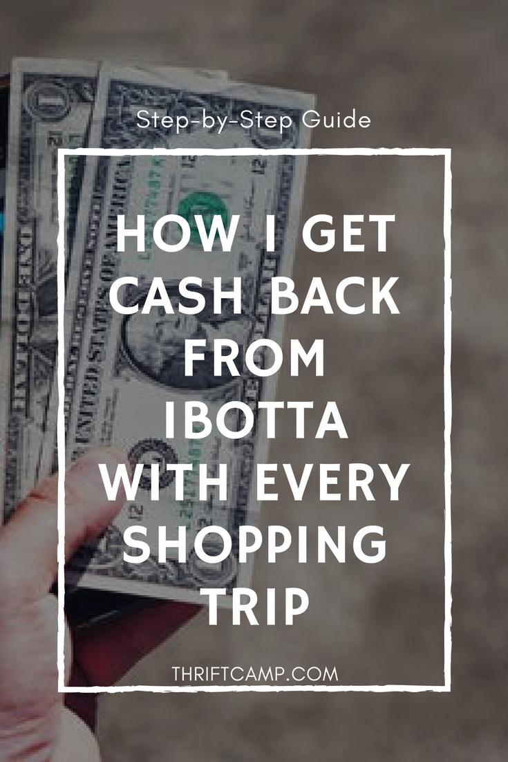 How to Use Ibotta Shopping Rebate App