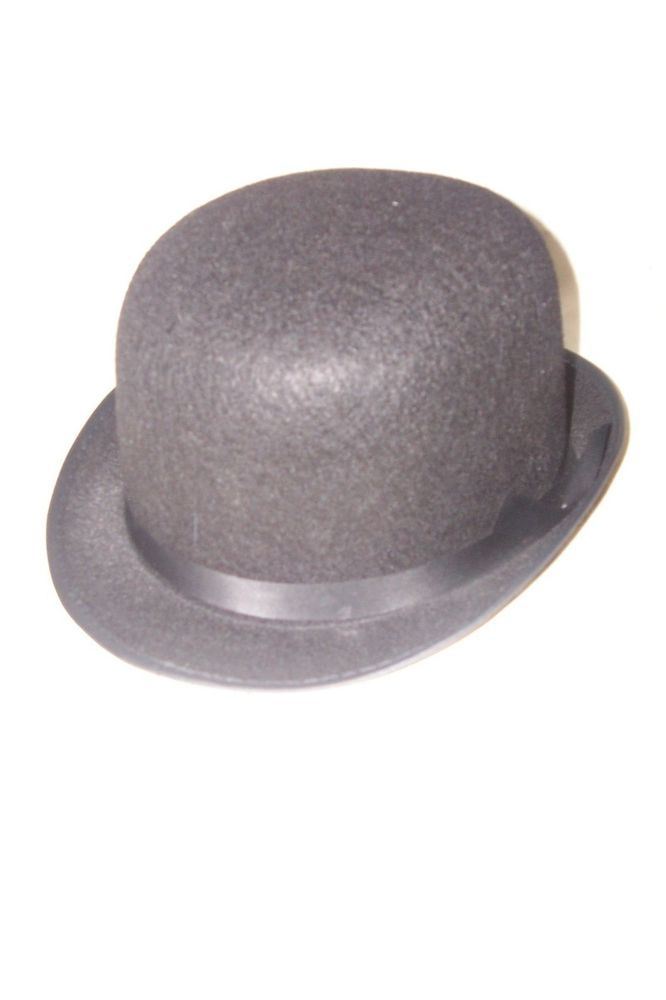 05060e1efa197 Black Bolo Bowler Derby Hat Halloween Theatrical Plays Dance Wear Costume   Unbranded  Hat