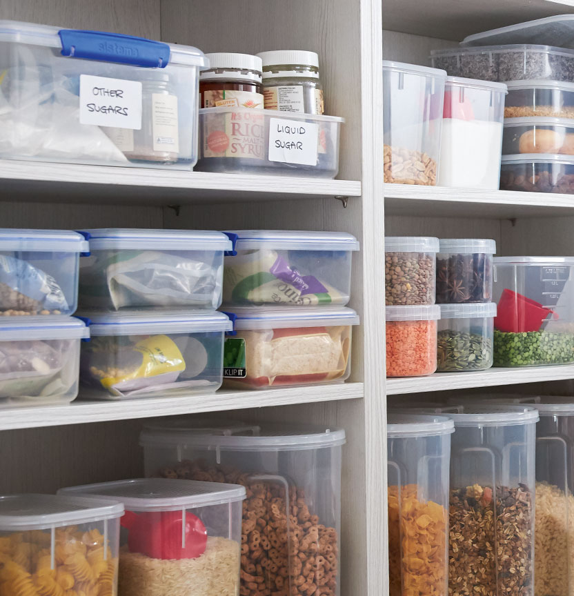 Time To Reorganise With Some Simple Storage Tips To Transform Your Home Whether It S With New Art In 2020 Organisation Hacks Pantry Organization Organizing Your Home