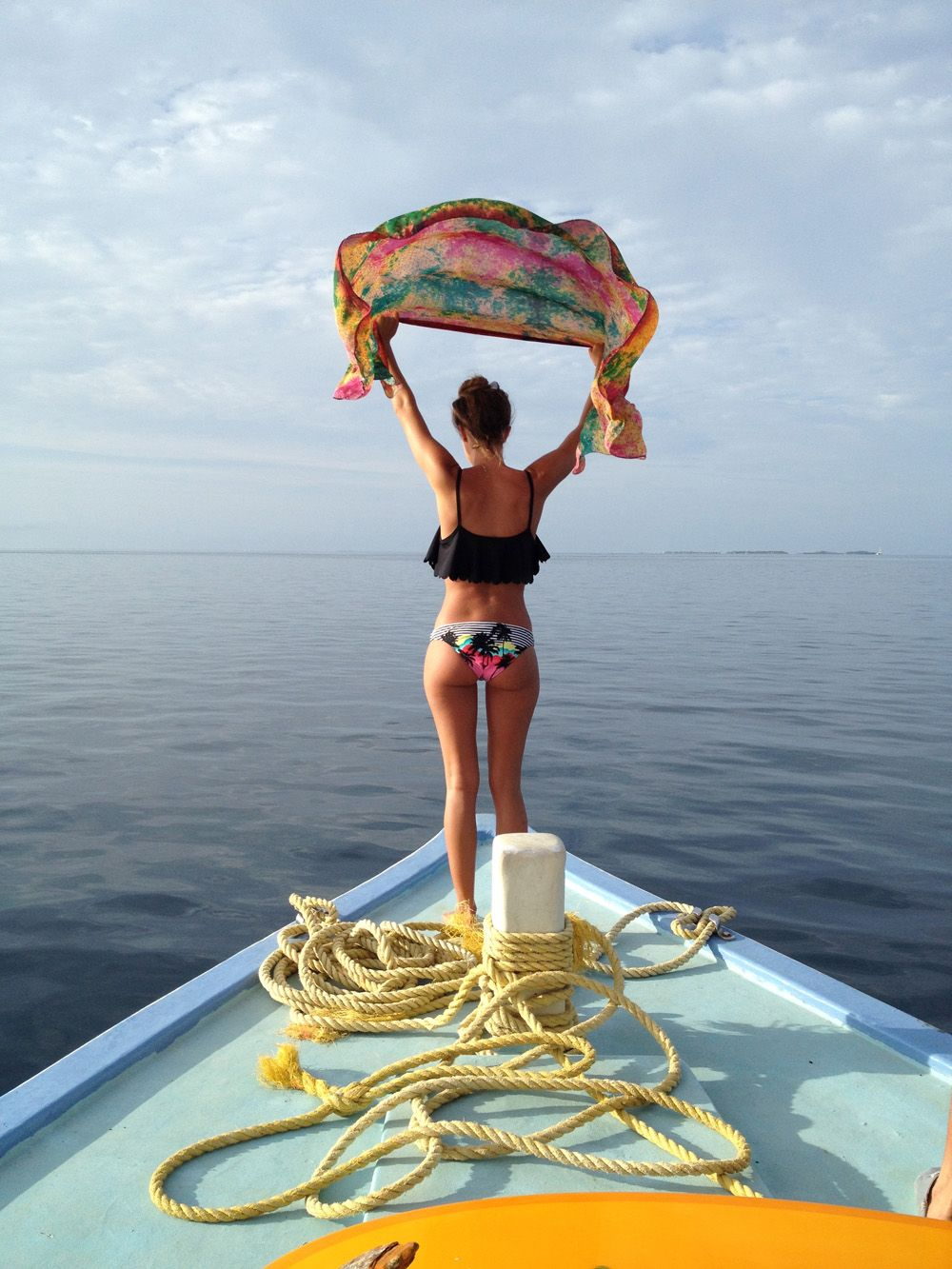 Monyca Byrne Wickey In The Maldives Dareyourself Summer Girls Surfer Girl Summer