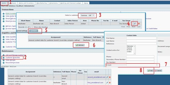 Send Invoice to Multiple Recipient in Frontaccounting Kvcodes - send an invoice