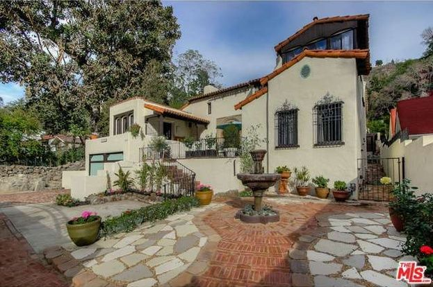 1808 Laurel Canyon Blvd Los Angeles Ca 90046 5 Beds 3 Baths Spanish Style Homes Spanish Style Spanish House