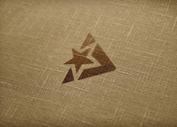 Brown Fabric Textured Mockup