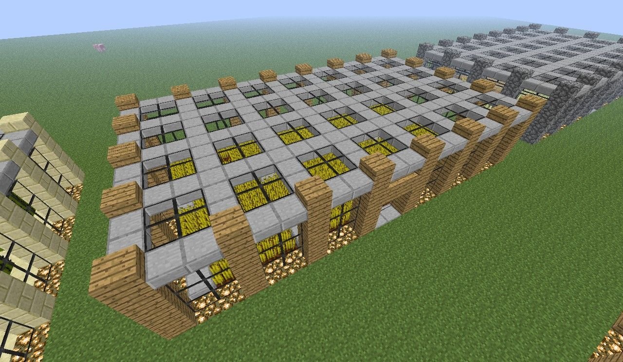 how to make a farm in mincraft
