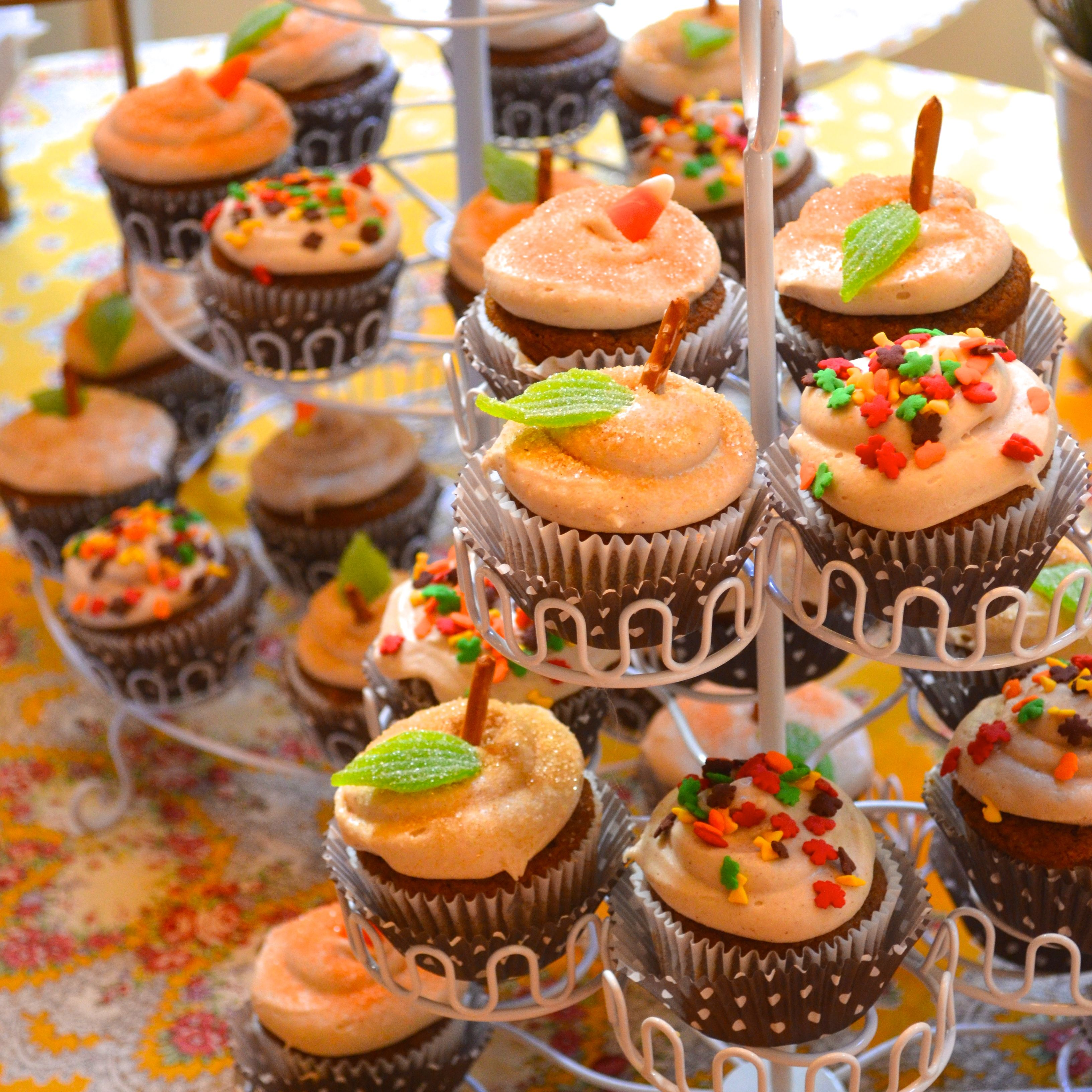 Fall Themed Baby Shower Cupcakes   Fall Baby Shower Cakes U2013 Decor .