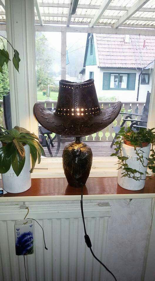 Läderlampa