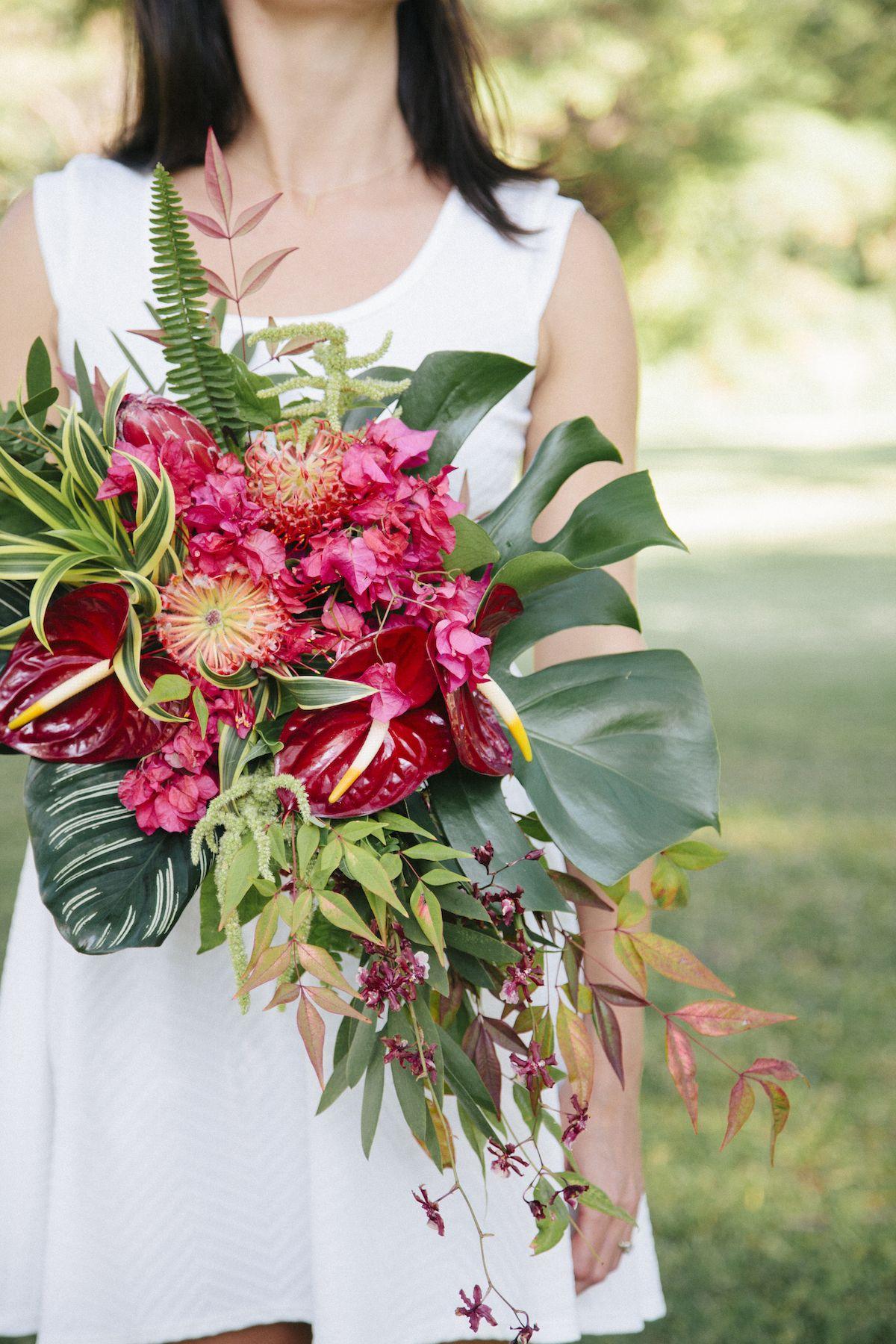 Wild and tropical hawaiian bouquet by okika httpokikafloral wild and tropical hawaiian bouquet by okika httpokikafloral izmirmasajfo Gallery
