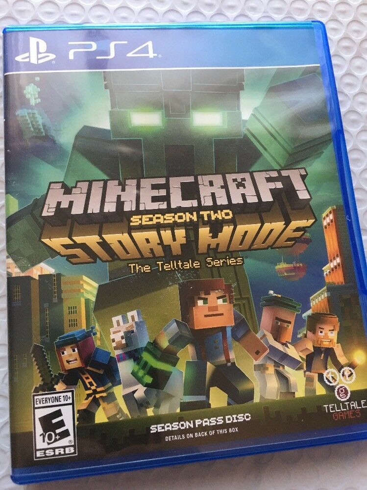 minecraft story mode season 2 ps4 disc