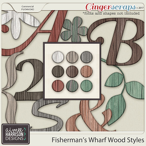 Fisherman's Wharf Old Wood Styles