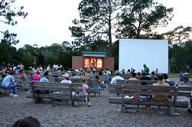 Campfire, Sing-a-long and outdoor movie is a recreation at Disney's Fort Wilderness Campground