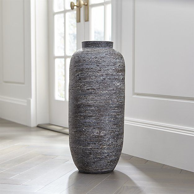 Timber Grey Floor Vase Reviews Crate And Barrel Floor Vase Tall Floor Vases Large Floor Vase