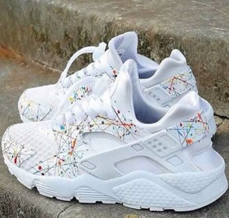 shoes white cute ootd urban outfitters clothes speckled tie dye swag  fashion sneakers sneakerhead nike custom summer back to school platinums  plati… 7b095b34d3417