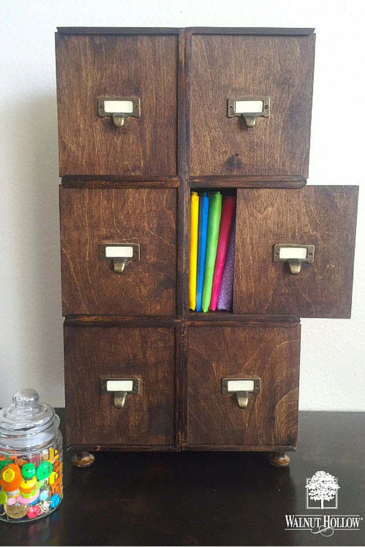 Make a Faux Apothecary Cabinet with Card keeper boxes | Unfinished ...