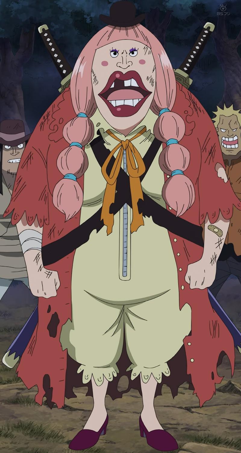 one piece lola character art from One Piece Wiki | Big mom pirates, One piece manga, Anime