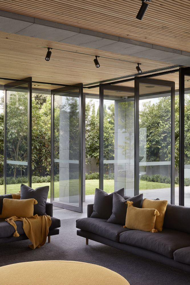 Gallery of quarry house finnis architects also living rh pinterest