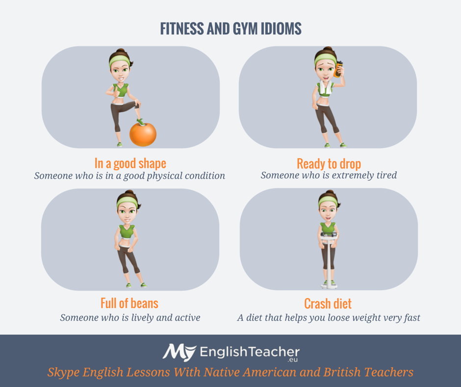 Workout Words: Fitness And Gym Idioms!