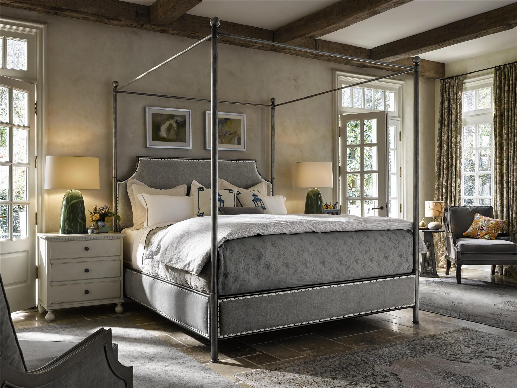 Sojourn Respite Bed (King) Universal Furniture metal