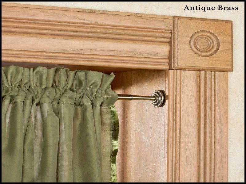 Best Of Spring Tension Curtain Rod Living Room Blinds Blinds
