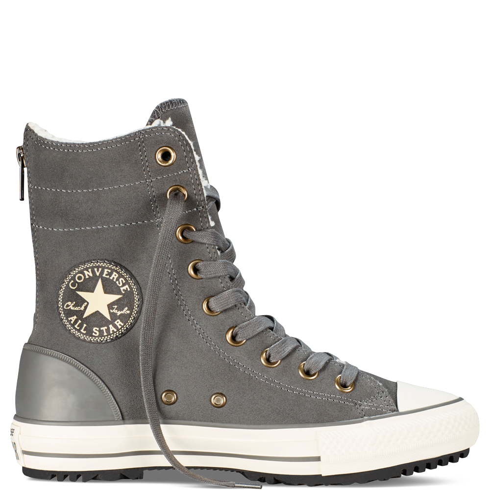 7523c9b6268d Womens Chuck Taylor Hi-Rise Boot Thunder Natural Egret thunder natural