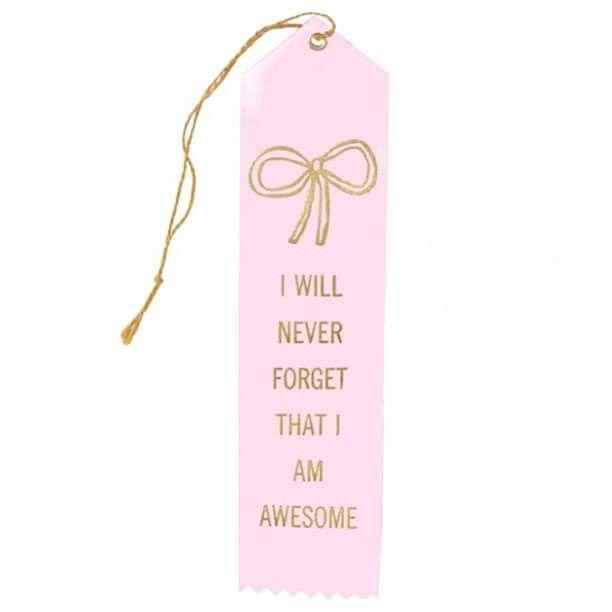 Nunca me esquecerei que sou incrível.