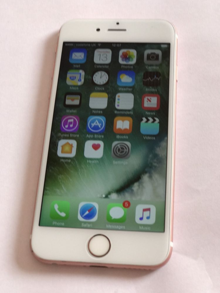 bfbc7ab9bb5 Apple iPhone 6s - 64GB - Rose Gold (Vodafone) Smartphone Very Good Condition