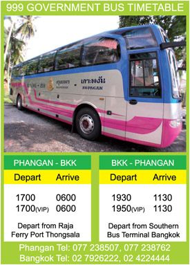99 Government Bus Timetable